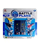 #10: War Fighter Battle Plane for kids, Pack of 6 Plane (Multi Color) Gift for kids party