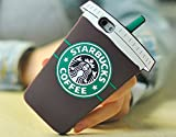 Starbucks Glace 3D Coque souple en Silicone, marron, iPhone 5/5S
