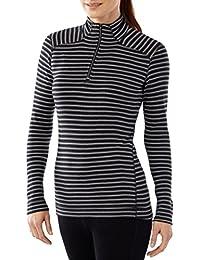 Smartwool NTS Mid 250 Pattern Sous-vêtement thermique zippée Femme Capri