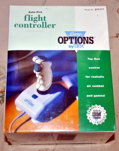 IBM Easy Options Auto-Fire Flight Controller JOY577