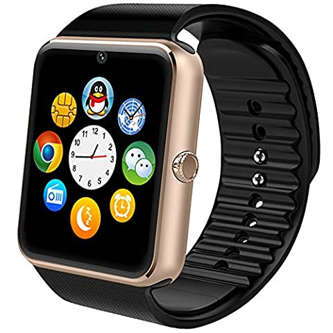 Montre Smart Watch Phone,Willful Bluetooth Montre téléphone portable avec appareil