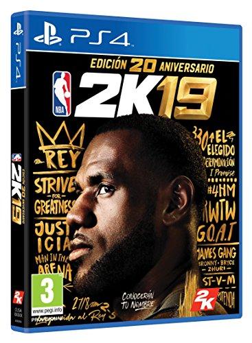 NBA 2K19 Edición 20 Aniversario - PlayStation 4 [Edizione: Spagna]