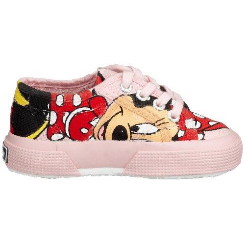 Superga2750- DISNEY MINNIECOTJ - Pantofole Bambina Mehrfarbig (Pink F15)