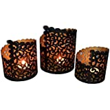 Karigari Home Decor Pillar Tealight Candle Holder Collection Stand Wall Sconce Handicrafts - B074DTV3TY