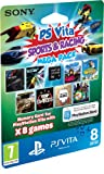 Cheapest PS Vita Mega Sports & Racing Pack (Includes 8 Games and 8GB Memory Card) (PS Vita) on PlayStation Vita