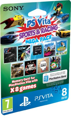 Sony PlayStation Vita Sports & Racing Mega Pack on 8GB Memory Card (PlayStation Vita)