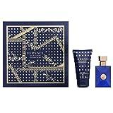 Versace Pour Homme Dylan Blau Geschenkset EDT Spray 30ml Bath & Shower Gel 50ml 80ml
