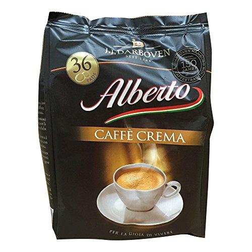 Alberto Caffe Crema 36 Pads 252g