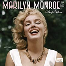 2018 Marilyn Monroe Mini Wall Calendar