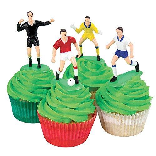 Fußballset 9-teilig – ideal als Kuchendeko - 2
