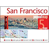 San Francisco PopOut Map - handy, pocket size pop up city map of San Francisco (PopOut Maps)
