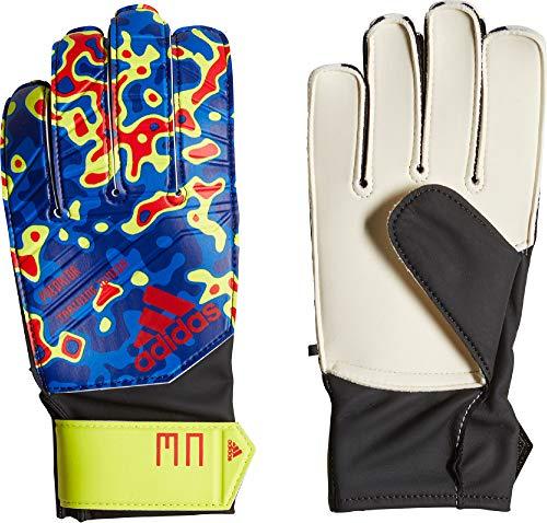 superior quality outlet boutique pretty nice adidas Predator Manuel Neuer Goalkeeper Gloves, Unisex, DN8605, Solar  Yellow/Football Blue/Active Red, 4 (EU)