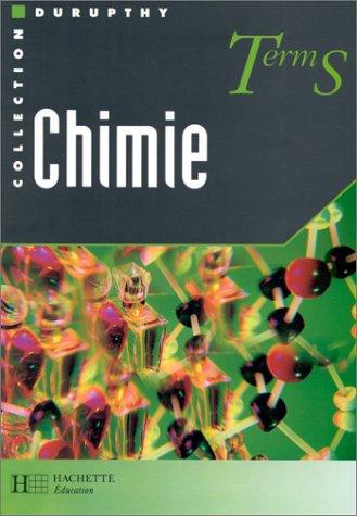 Chimie, term S