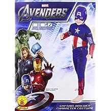 Rubie`s - Disfraz infantil de Capitán America clásico (881314-L)