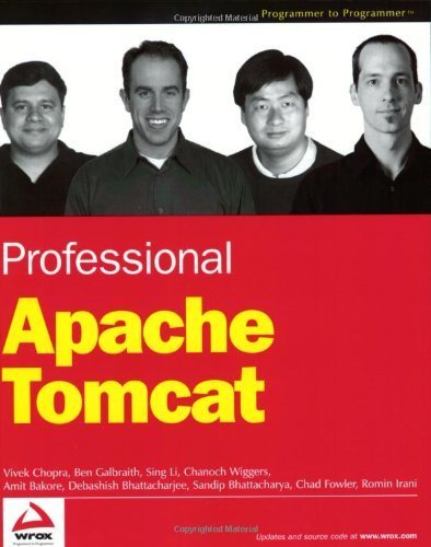 Professional Apache Tomcat by Chanoch Wiggers (2002-10-04)