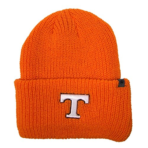 Top of the World Offizielle NCAA Heavy Strumpf Cuffed Knit Beanie Hat Cap, Tennessee Volunteers, Einheitsgröße (Volunteers Hat Tennessee)