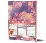 Mein Vokabelheft / 100+ Seiten, 2 Spalten, Register / Lernerfolge auf jeder Seite zum Abhaken / PR101 'Blood Diamonds' / DIN A4 Softcover