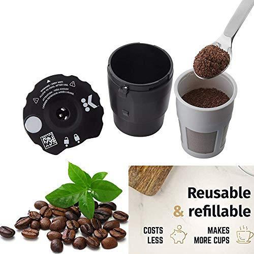 TianranRT Wiederverwendbar Kaffee Filter für Keurig Kaffee Kapsel Tassen Kaffee Kaffeemaschine...