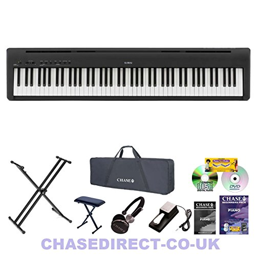d97b8a144 Kawai ES-100 Digital Portable Stage Piano in Black