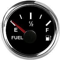 "Universal medidor de nivel de combustible 0–190ohm señal 2""(52mm) con retroiluminación 9–32V"
