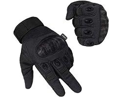 Unigear Guantes para Moto Pantalla Táctil Guantes Tácticos Militares Dedo Completo Antideslizante CE Verificada Universal par