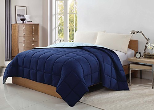 caribbean-joe-victoria-classics-reversible-blanket-king-navy-slate-by-caribbean-joe