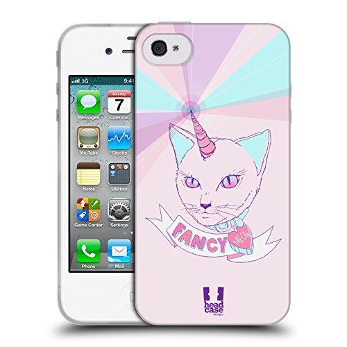 Head Case Designs Canada Animaux Patriotiques Étui Coque En Soft Gel Apple iPhone 5c Chat Chic