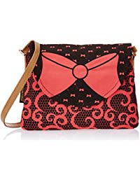 Kanvas Katha Women's Sling Bag (Peach) (KKPUS/AMZ/05)