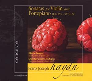 Sonatas for Violin and Fortepiano H
