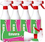 Mottenspray Mottenmittel ENVIRA 5x500ml