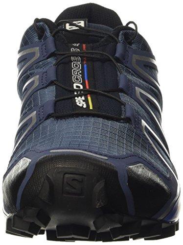 Salomon Herren Speedcross 4 Traillaufschuhe Blau (Slateblue/black/blue Yonder)