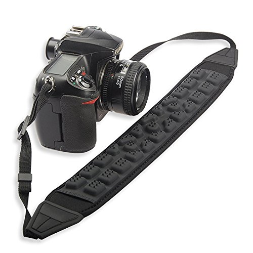 SHOPEE Universal Decompression Massage Camera Strap Shoulder Neck Grip Shock Absorption for All Dslr Camera(Nikon Canon Sony Pentax Etc)  available at amazon for Rs.799