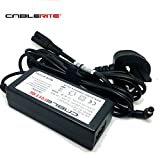 19v LG tv monitor charger power supply adapter cable for 28LB490U-ZH 32lf510b 2lf510b - E1948S - E2242C - E2249 - ADS-40SG-19-3 - 19025G - LCAP21 - 23M47H - 23MP67VQ - AD-48F19 29LB4510 - E2290T - E2360T - E2350T - W2486L - 20M37D - 23MP57H- E2360T - LCAP16A-E - LCAP25A - 28MT48S - 32LH510B 17' 22' 25' 28' 32' - Cablerite TM branded
