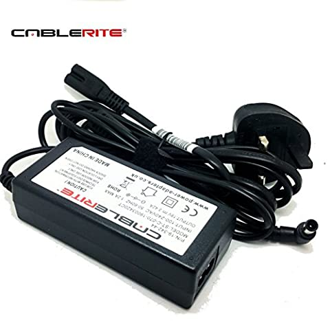 19v LG tv monitor charger power supply adapter cable for
