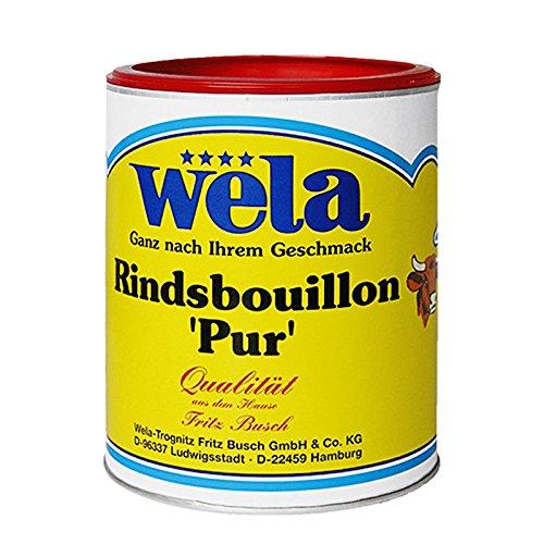 Rindsbouillon 'Pur' - wela 1/1 Dose