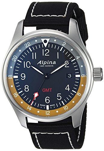 Alpina Startimer Pilot Herren-Armbanduhr 42mm Schweizer Quarz AL-247BBG4S6