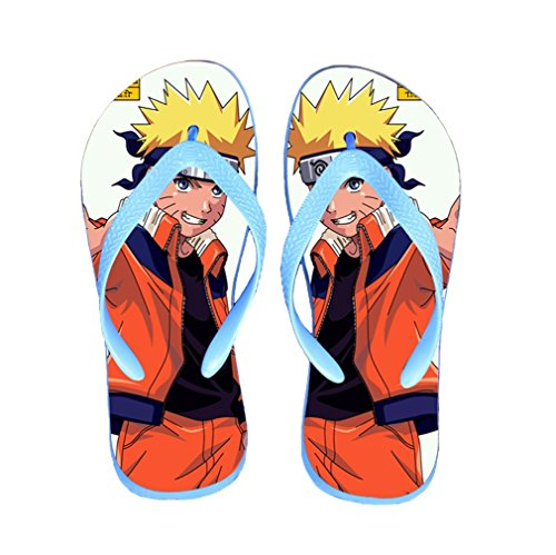 Bromeo Naruto Anime Unisex Flip Flops Zehentrenner Flip Pantoffeln 309