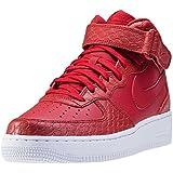 Nike Air Force Flach Rot