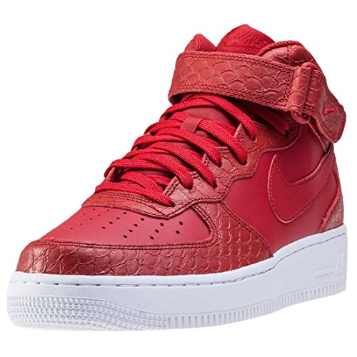 Nike Air Force 1 Mid '07 Lv8 Herren Basketballschuhe Rot