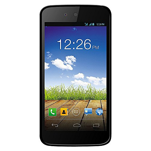 Amzer 97385 Pudding TPU Case - Black for Micromax Canvas A1