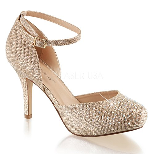Higher-Heels Fabulicious Pumps High Heels Brautschuhe Covet-03 Nude Gr. 41/US10