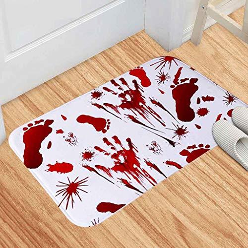 Beängstigend Geistes Kind Kostüm - jieGREAT ❤❃ Räumungsverkauf❤❃ ,Blut Fußabdruck Bad