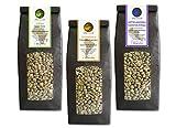 Rohkaffee - aus Kenia, Kolumbien und Guatemala im Sparpack 3x500g