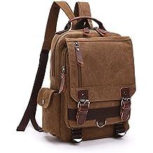 VeBrellen Borsa escursionismo Viaggi Travel Bag Uomini grande scuola vintage
