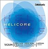 D'Addario Orchestral Helicore H313 4/4M - Cuerda individual Re para violín, escala 4/4, tensión media