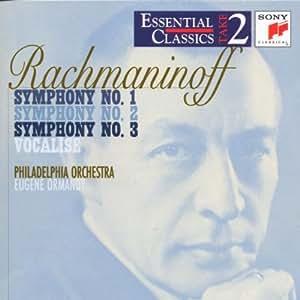 Rachmaninov : Symphonies Nos.1, 2 & 3