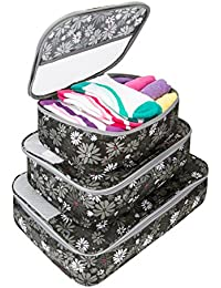 Travelon Set Of 3 Packing Cubes