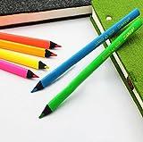 6 Color Bright Highlighter Neon Pencils ...