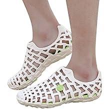 Zapatillas Unisex Clásicos Zapatos Hombres Mujeres Casuales Pareja Sandalias de Playa Chanclas Sneakers