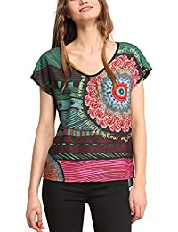 Desigual Damen Regular Fit Bluse BLUS_SARA